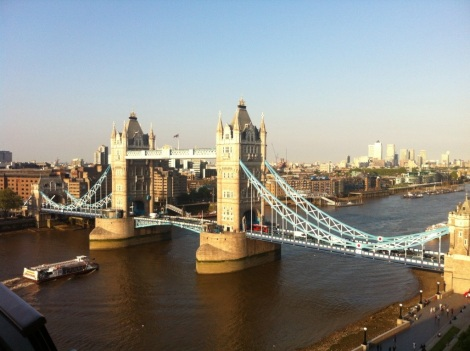 Tower Bridge from City Hall